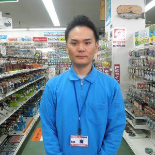 つり具センター釧路店のスタッフ紹介