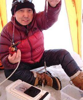 【スタッフ釣行記】 砂川オアシスパークでワカサギ釣り!