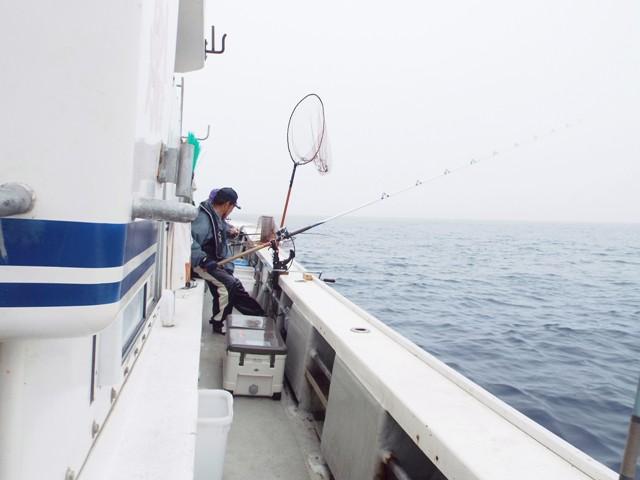 ⑤7月26日7月16日留萌釣り大会 宮崎さん