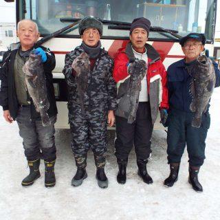 2019年 第一回 日司沖 ソイ釣り大会