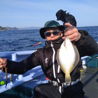 小樽 船カレイ釣り研修